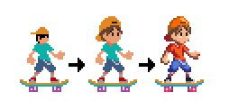 Playable character evlution since the first prototypes until now
