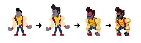 Robot Jock evolution since the first prototypes until now