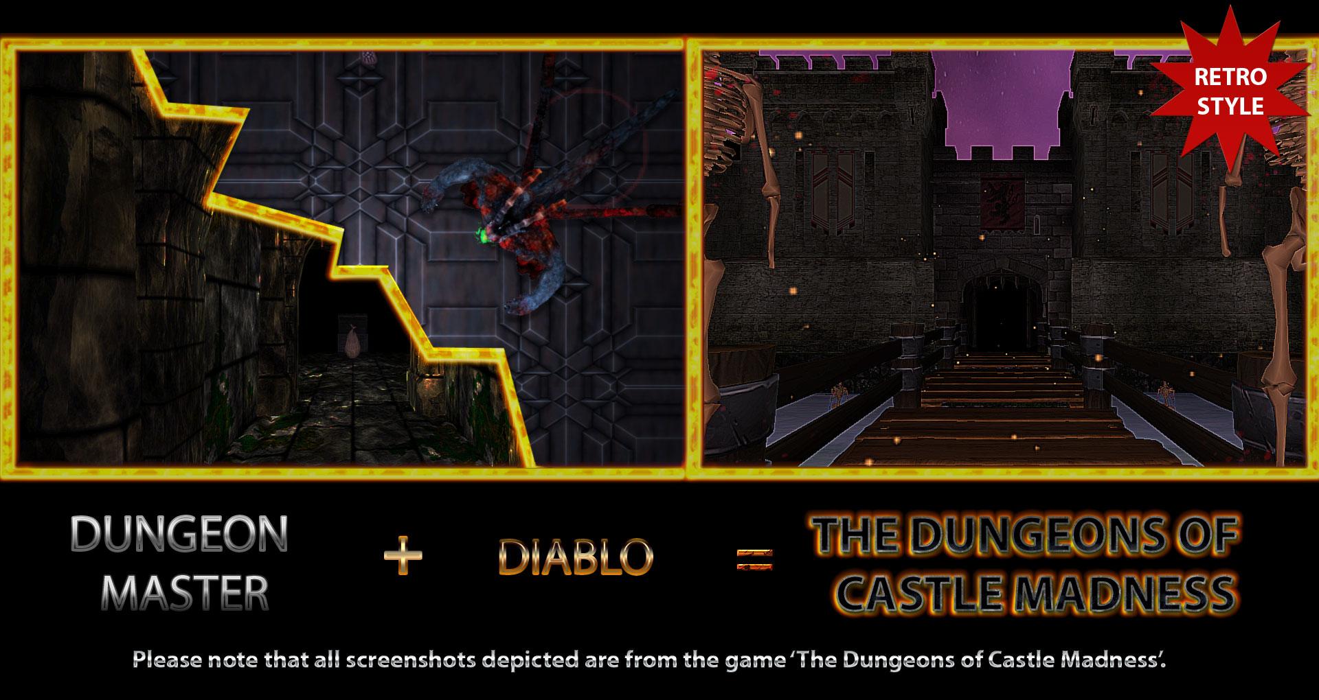 Dungeon Master + Diablo