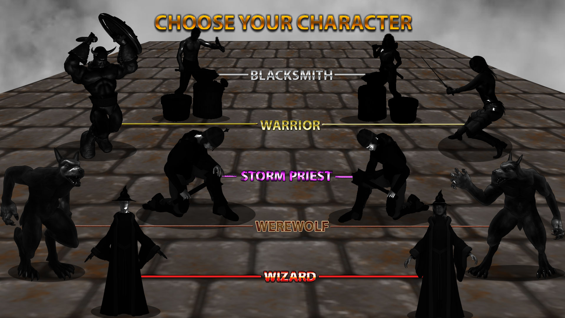 choose your character4