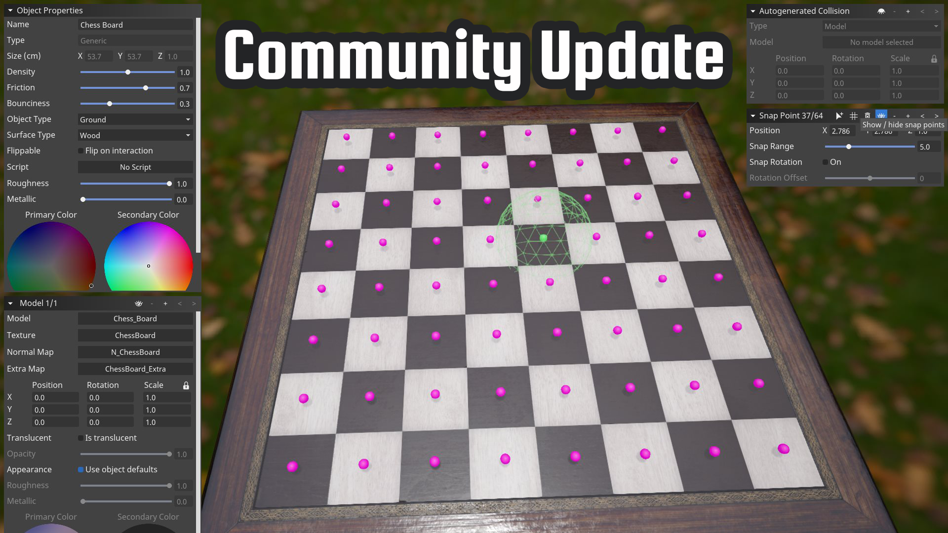 Community Holiday Update General
