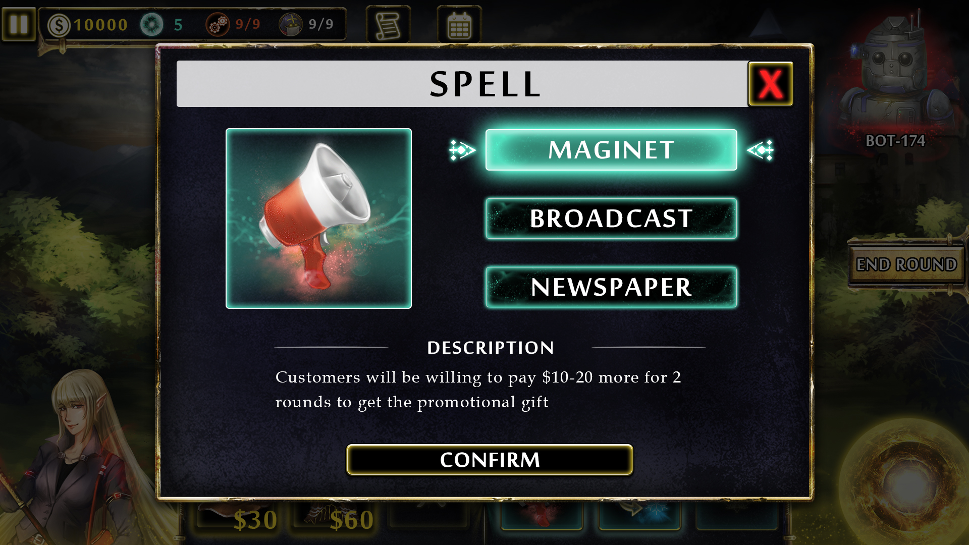 Magitech Spell