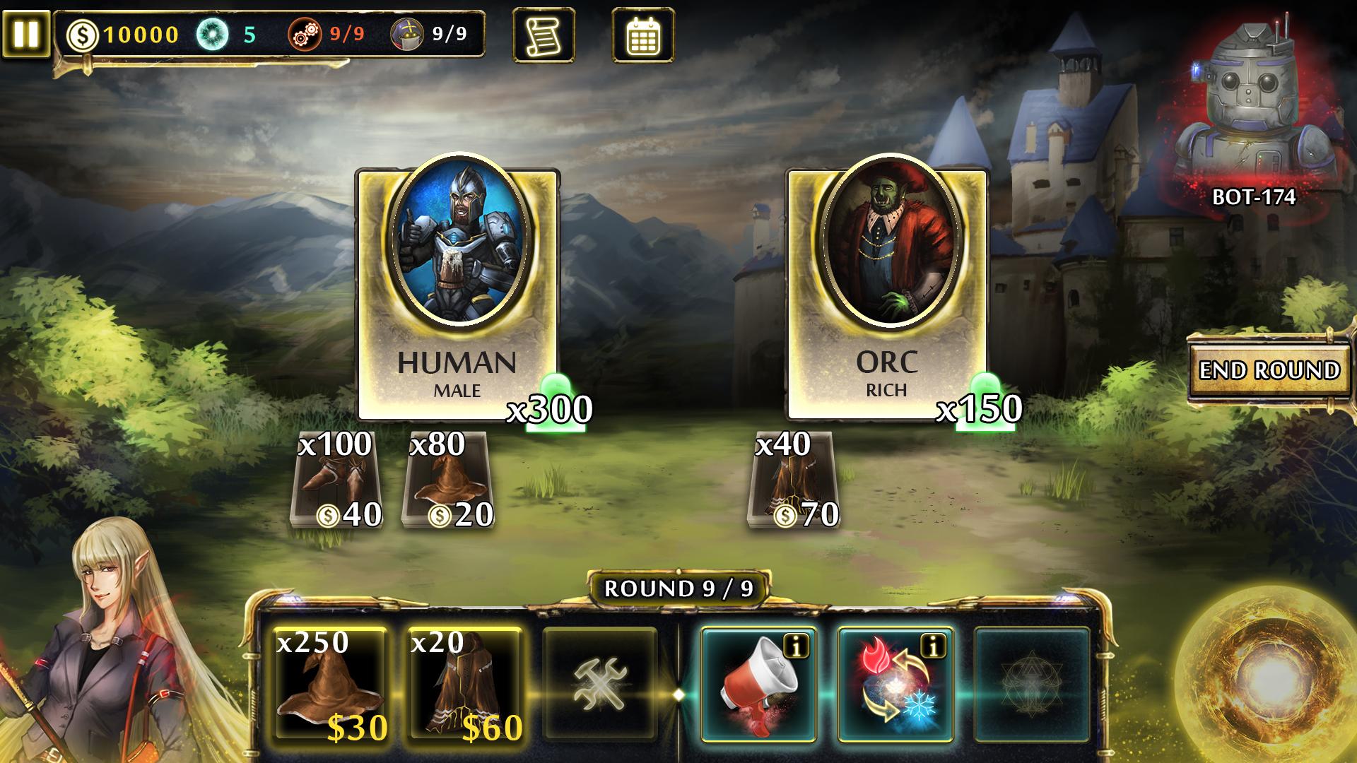 Magitech Main UI