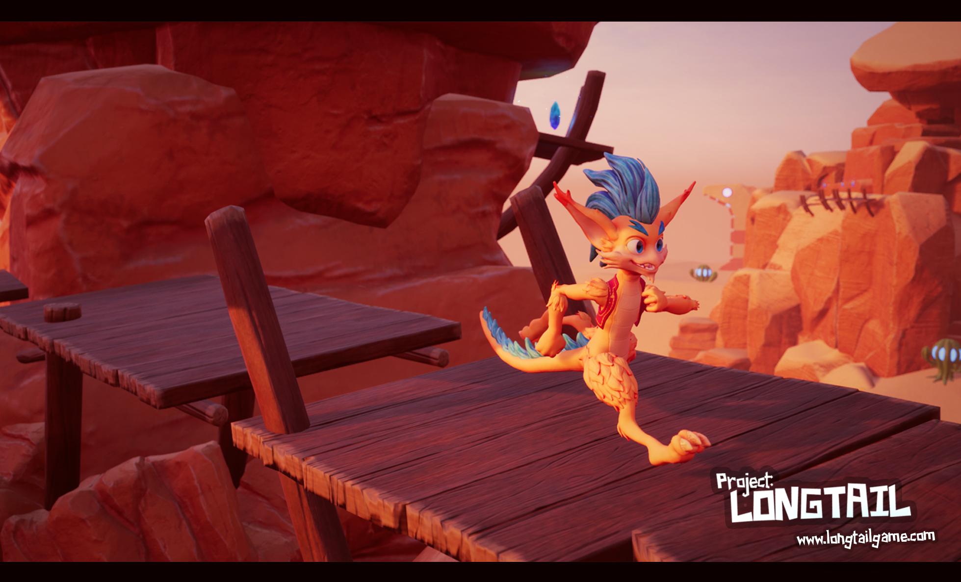 Longtail Screenshot - The Desert