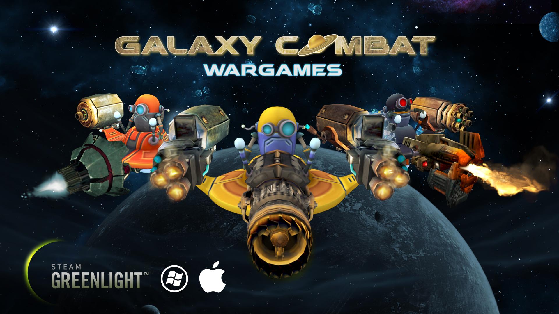 Galaxy Combat Wargames for Mac & PC