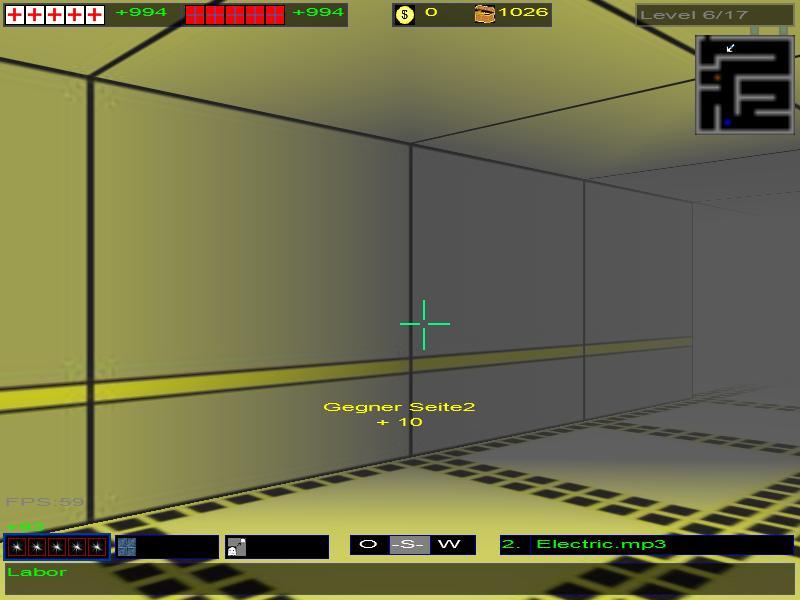 Laborlevel in GW3D v0.9