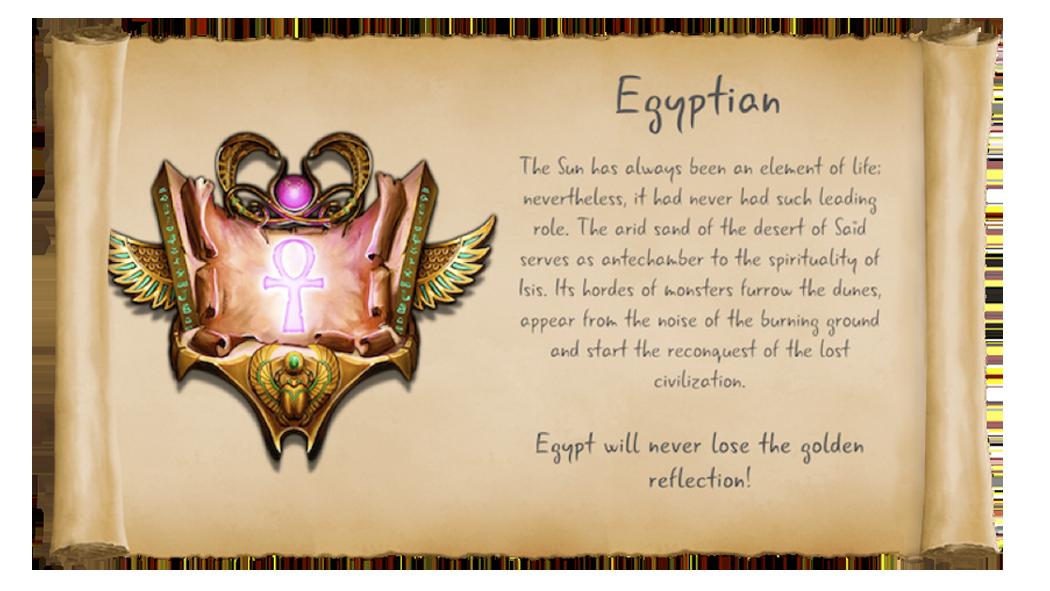factions egypt