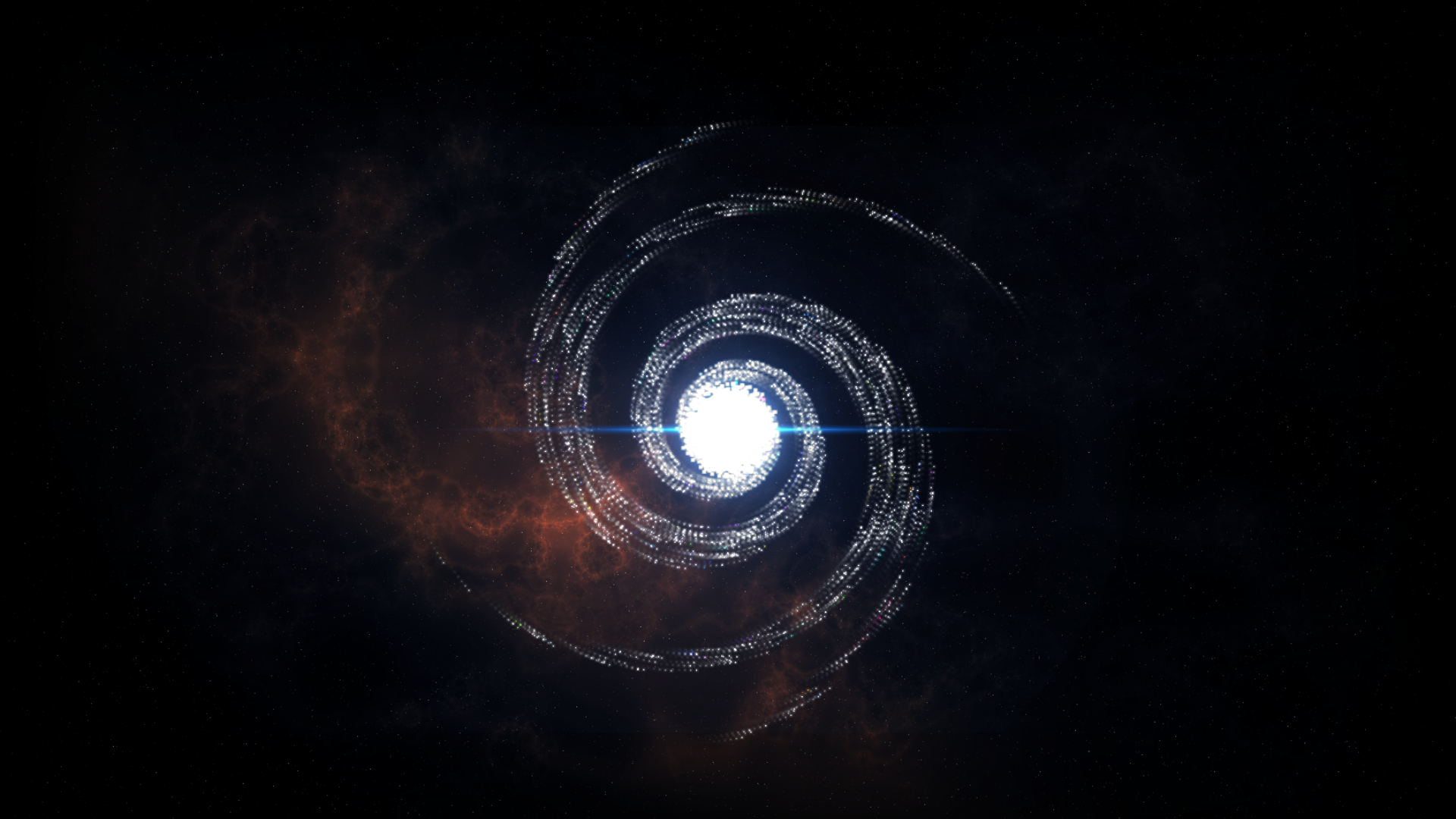 ORB: Still shot of Orbs intro cut scene