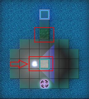 Block on pressure panel