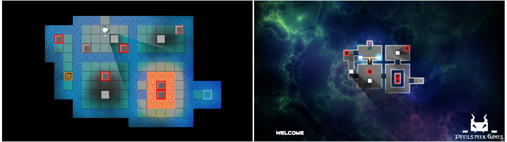 Demo Level Welcome - Before and After