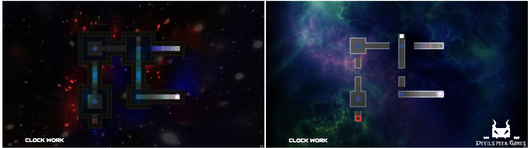 Demo Level Clockwork - Before and After