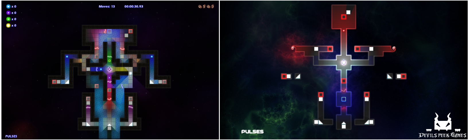 Demo Level - Pulses Before and After