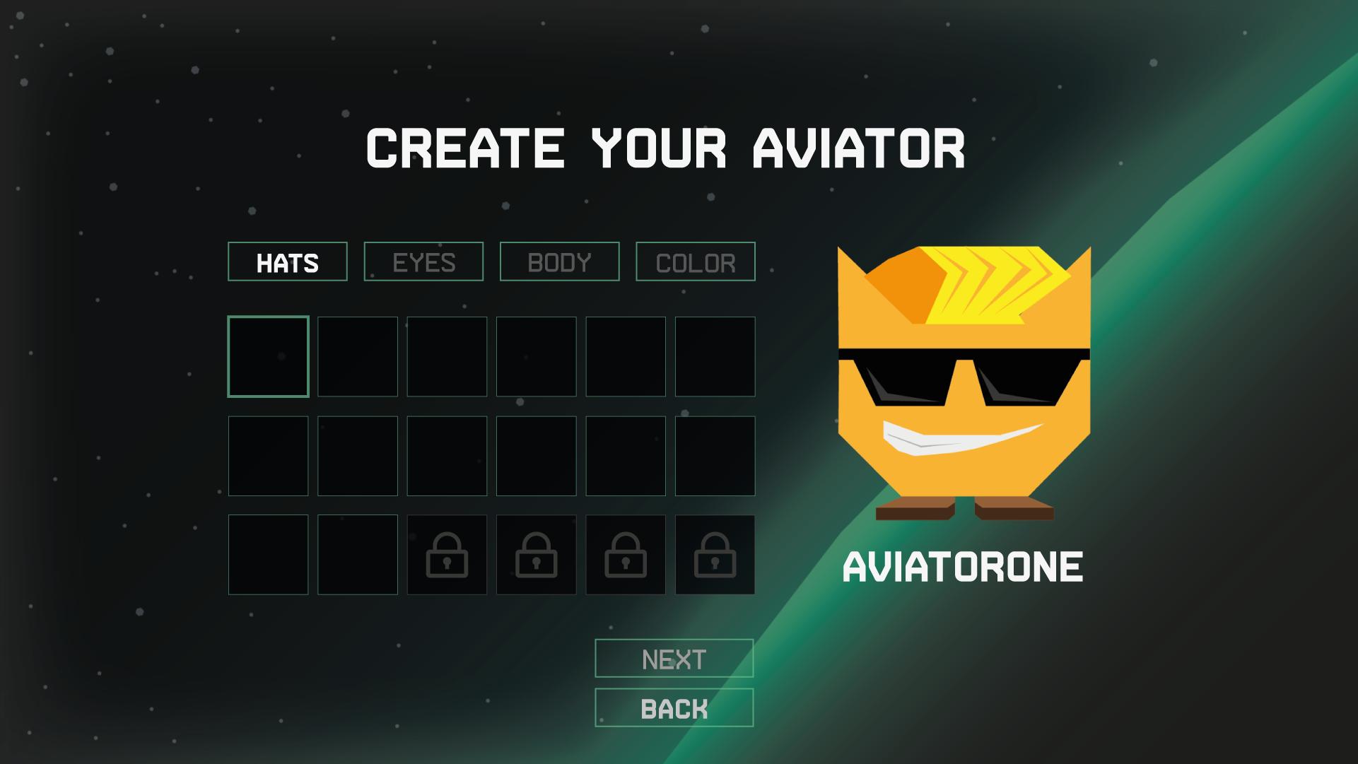 CharCreation Screenshot