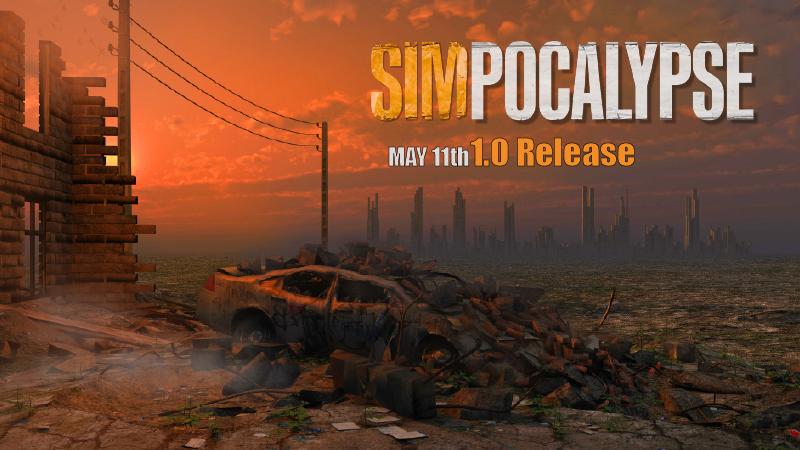 SimPocalypse - post-apocalyptic Civilization Simulator