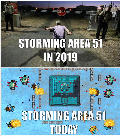 THINGS HAVE CHANGED_ area raiders