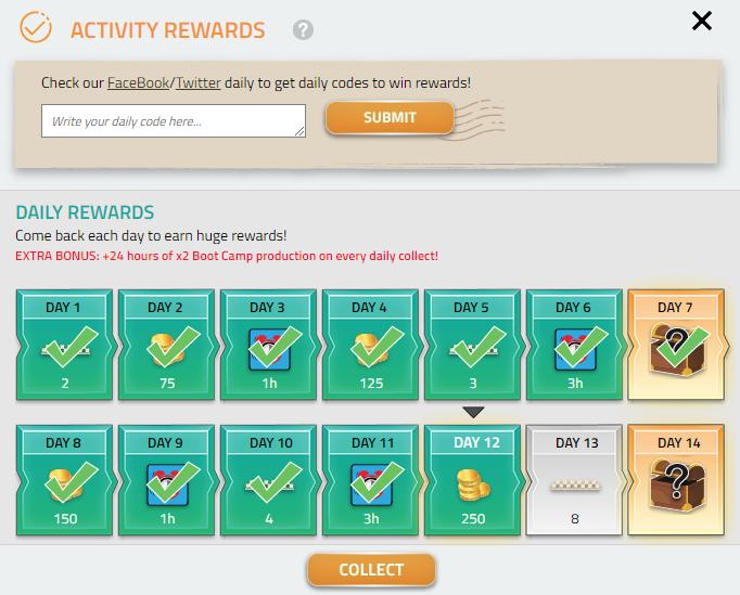 activity rewards - updated
