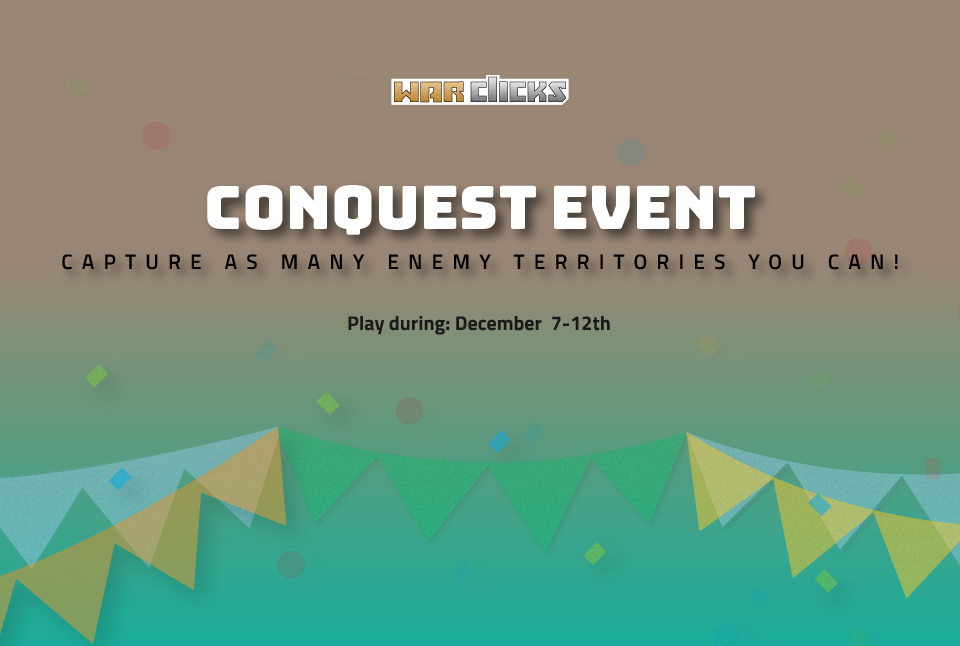 Conquest Event is LIVE