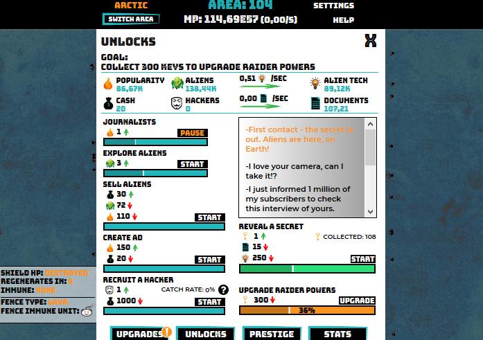 Complete missions_ unlocks