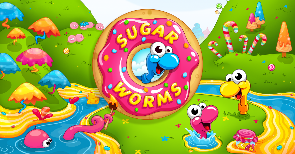 sugar worms logo