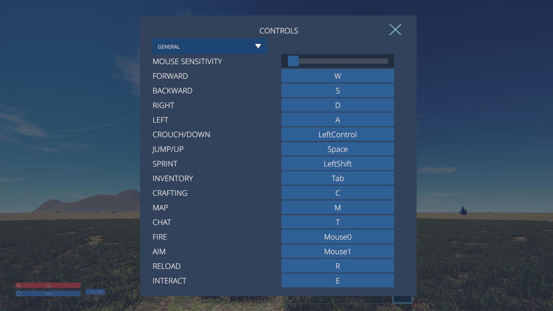 ControlsScreen
