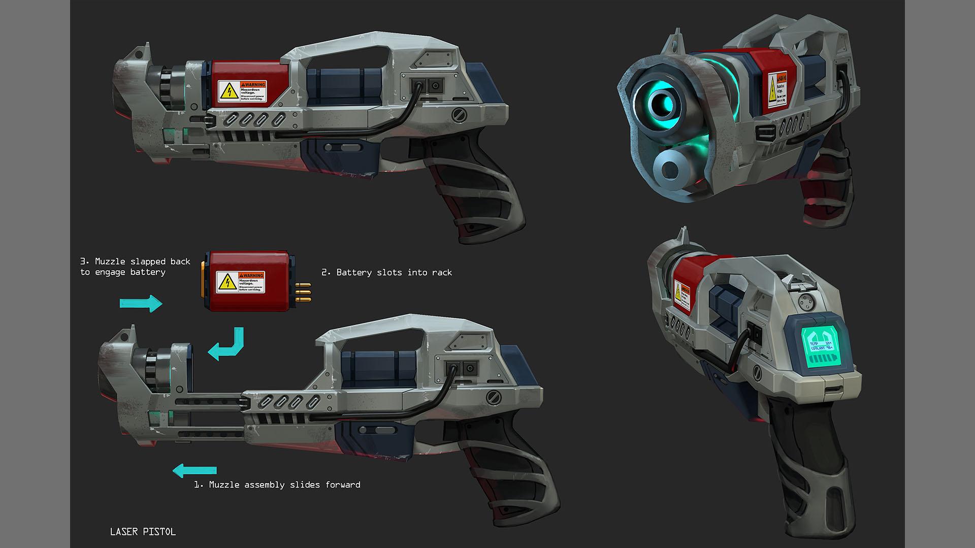Laser pistol2 1