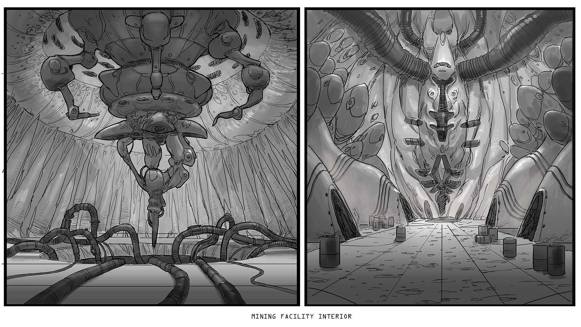 Mining interior sketches