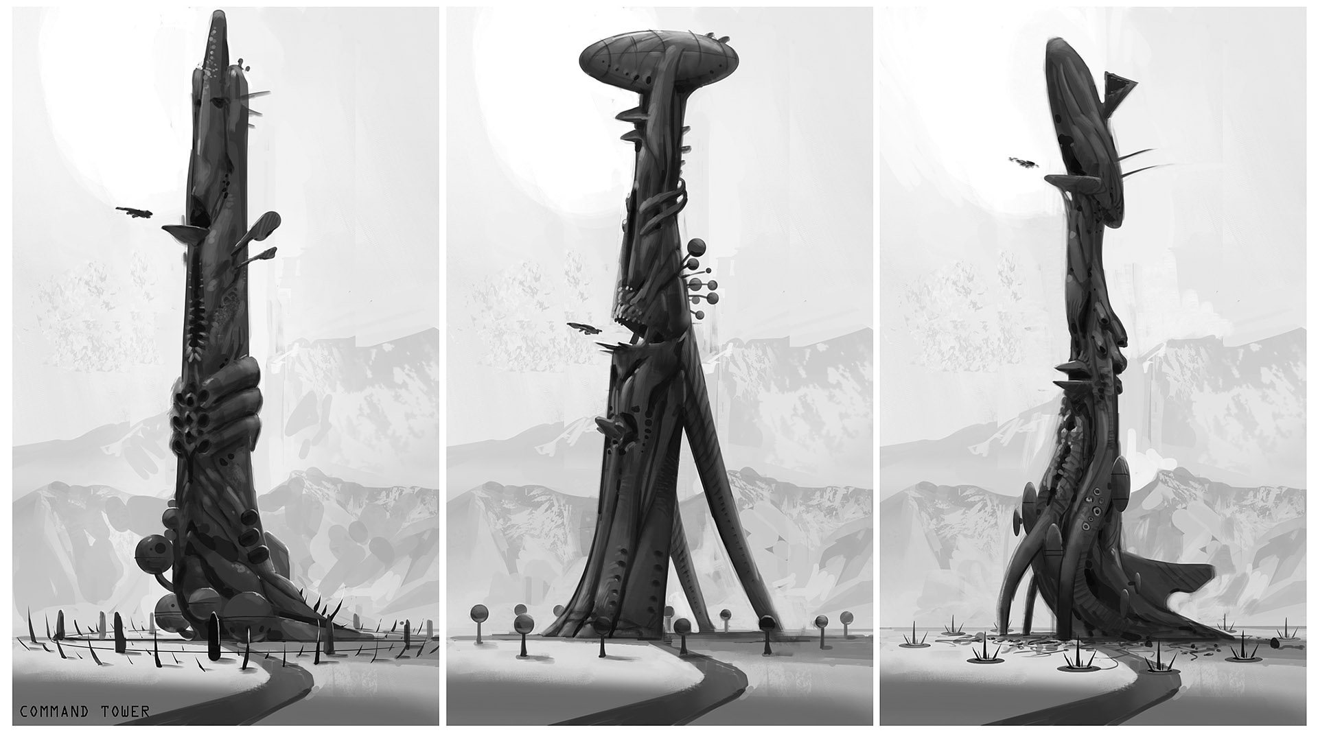 The Tower sketches2