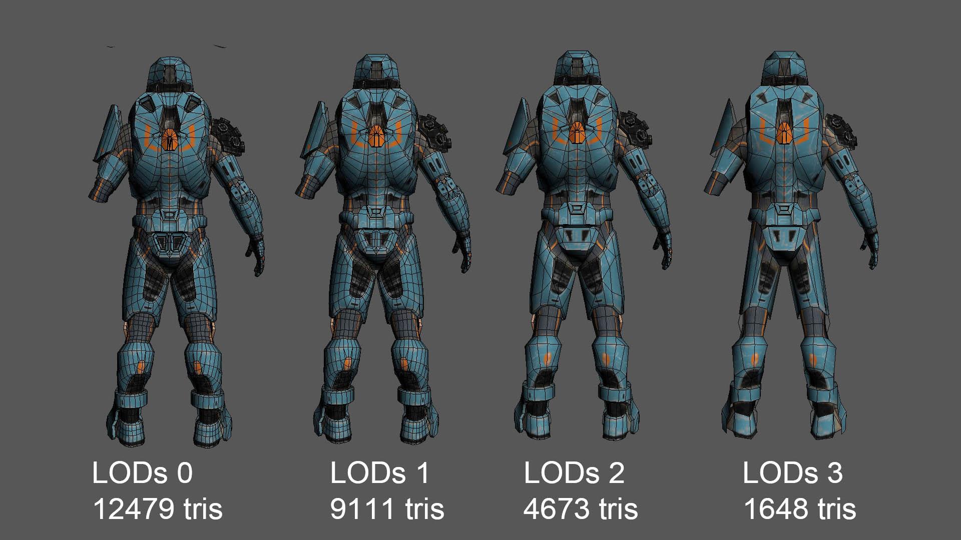 Tier3 LODs 1
