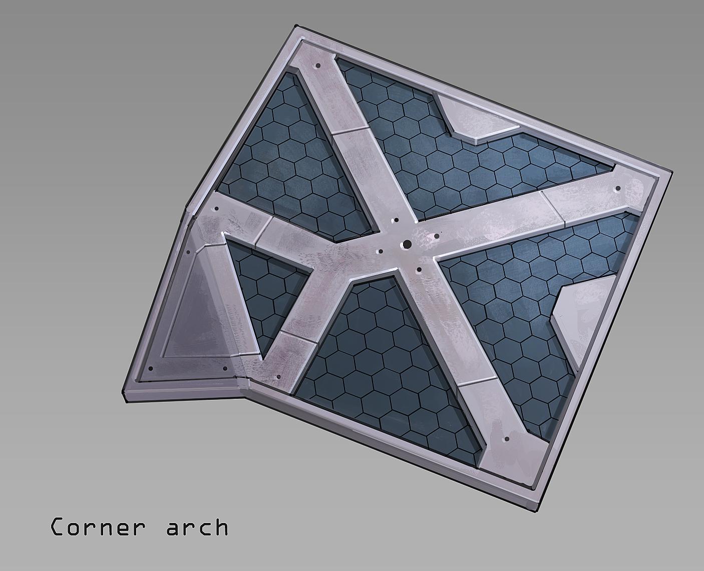 corner roof