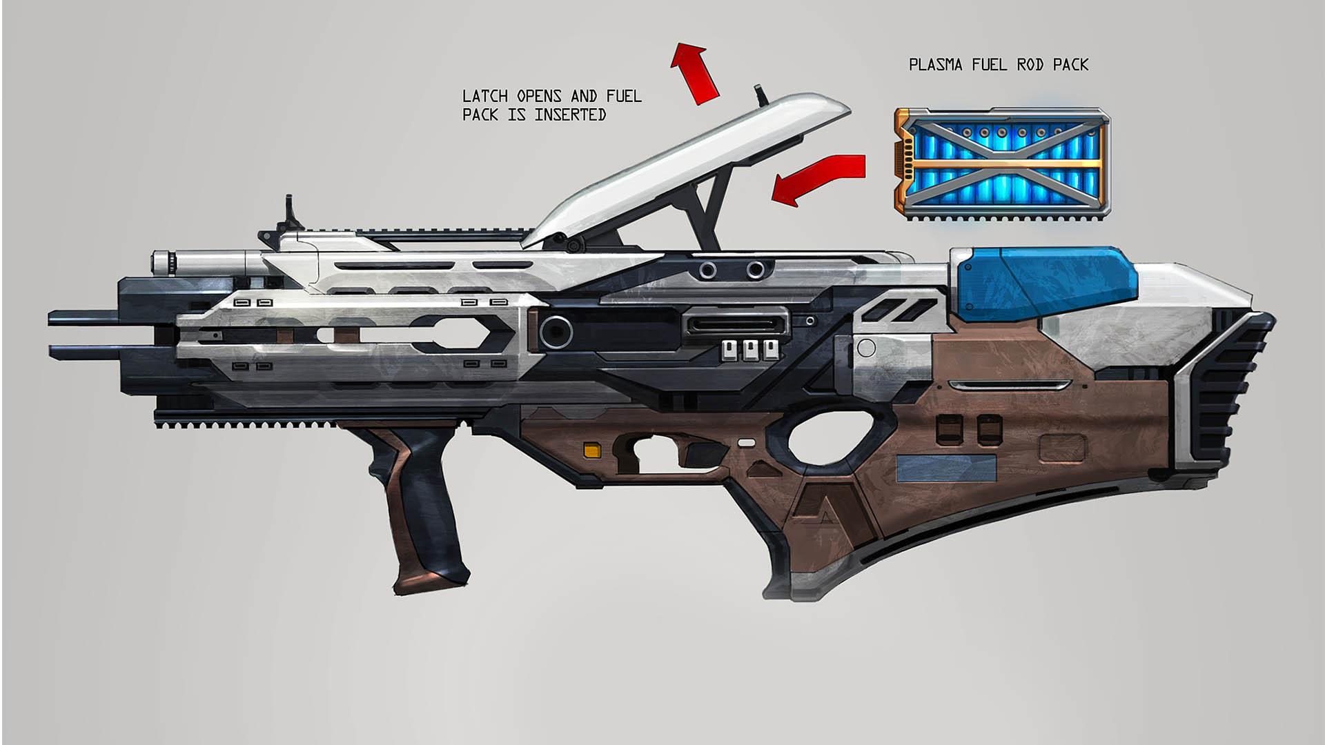 plasma assualt rifle reload