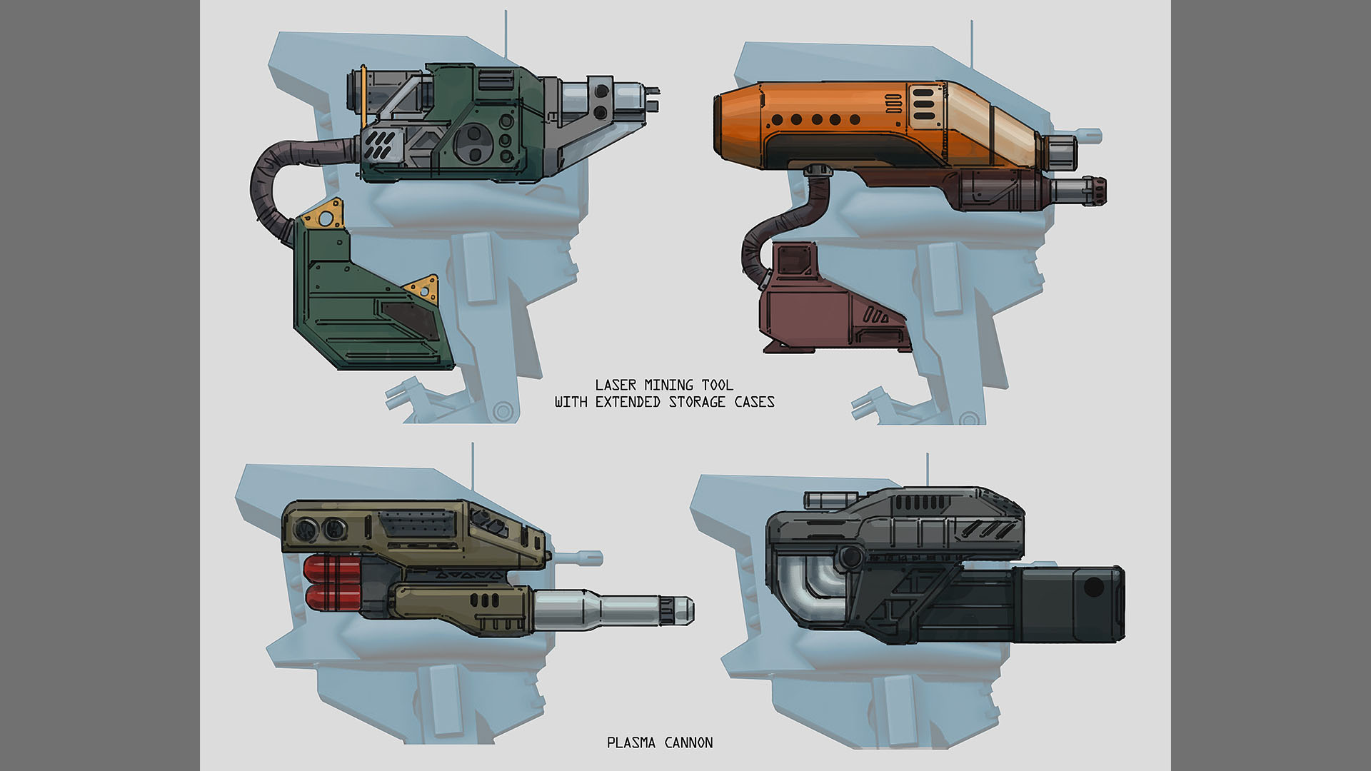 scout mech weapons