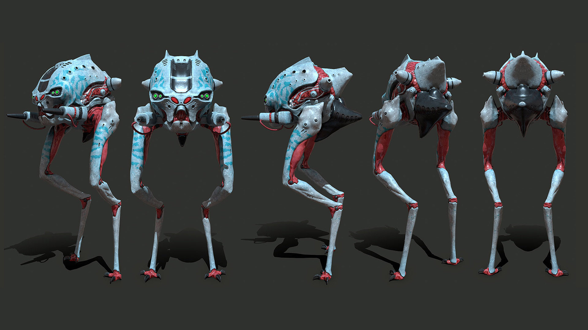 walker Normal Textures Preview