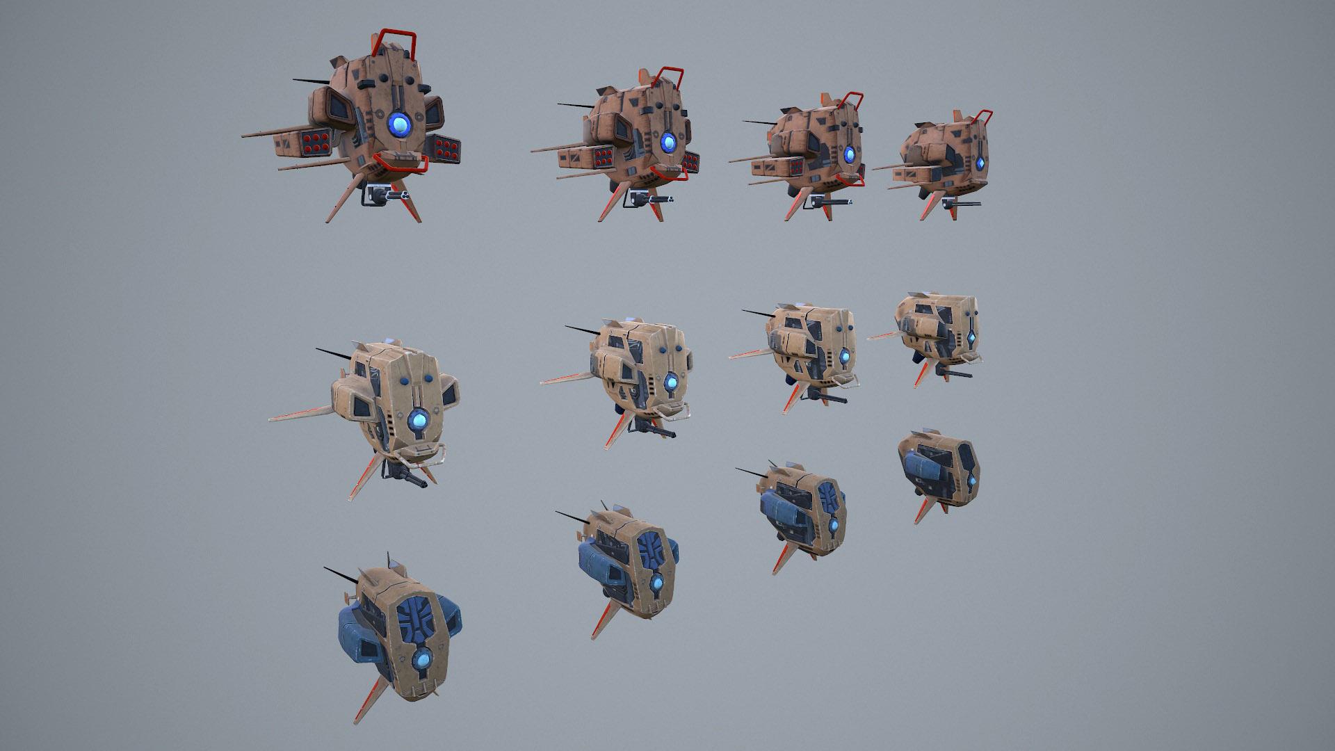 pantropy drone lods