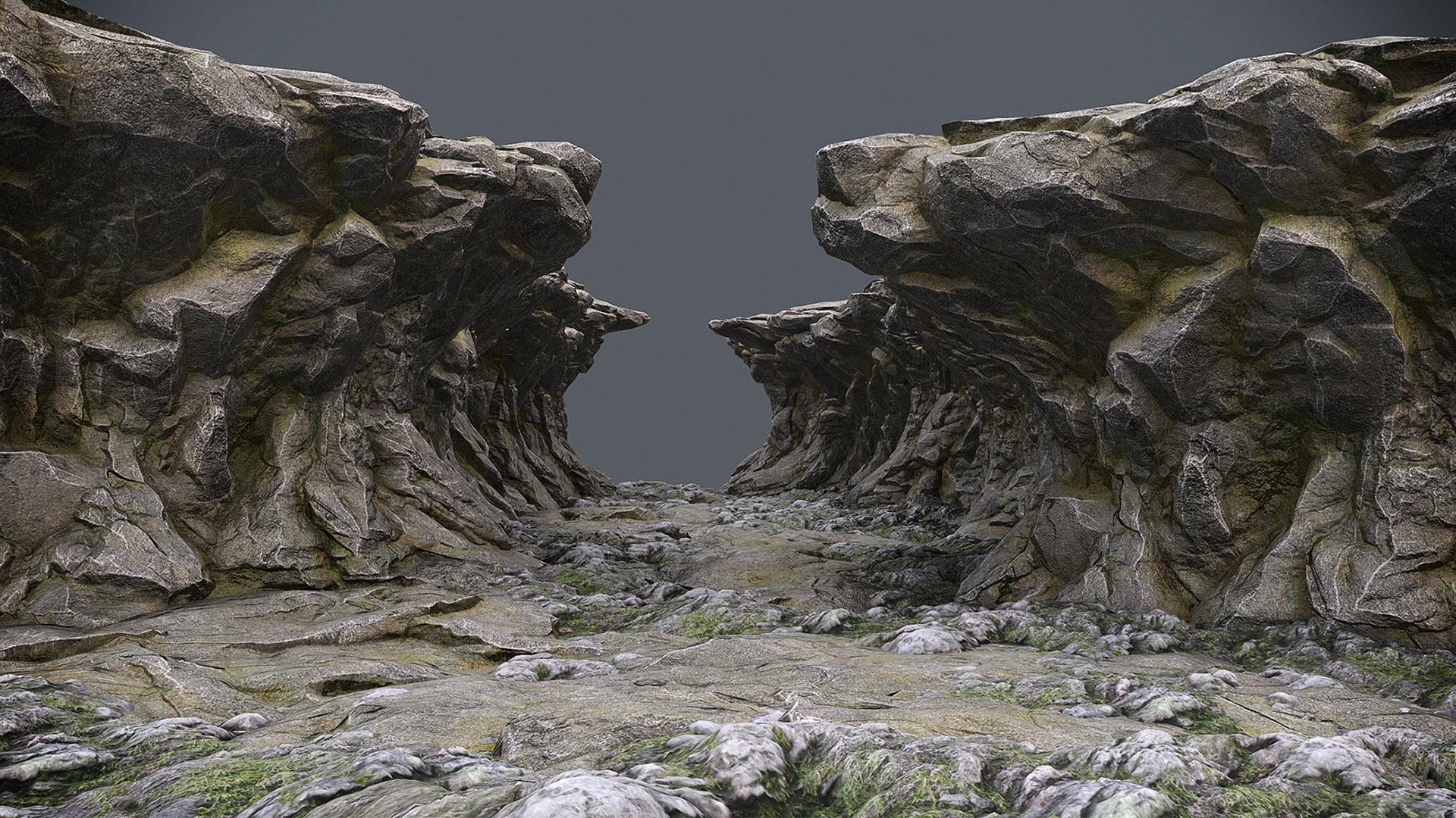 pantropy ravine rocks