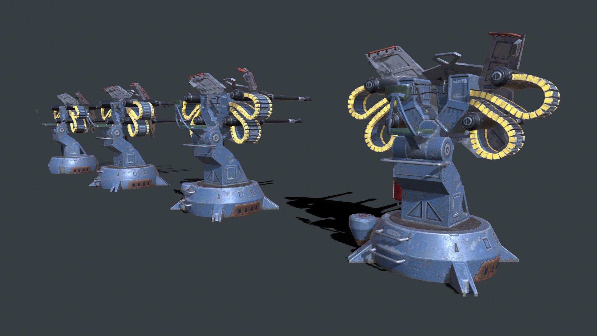 pantropy turret lods