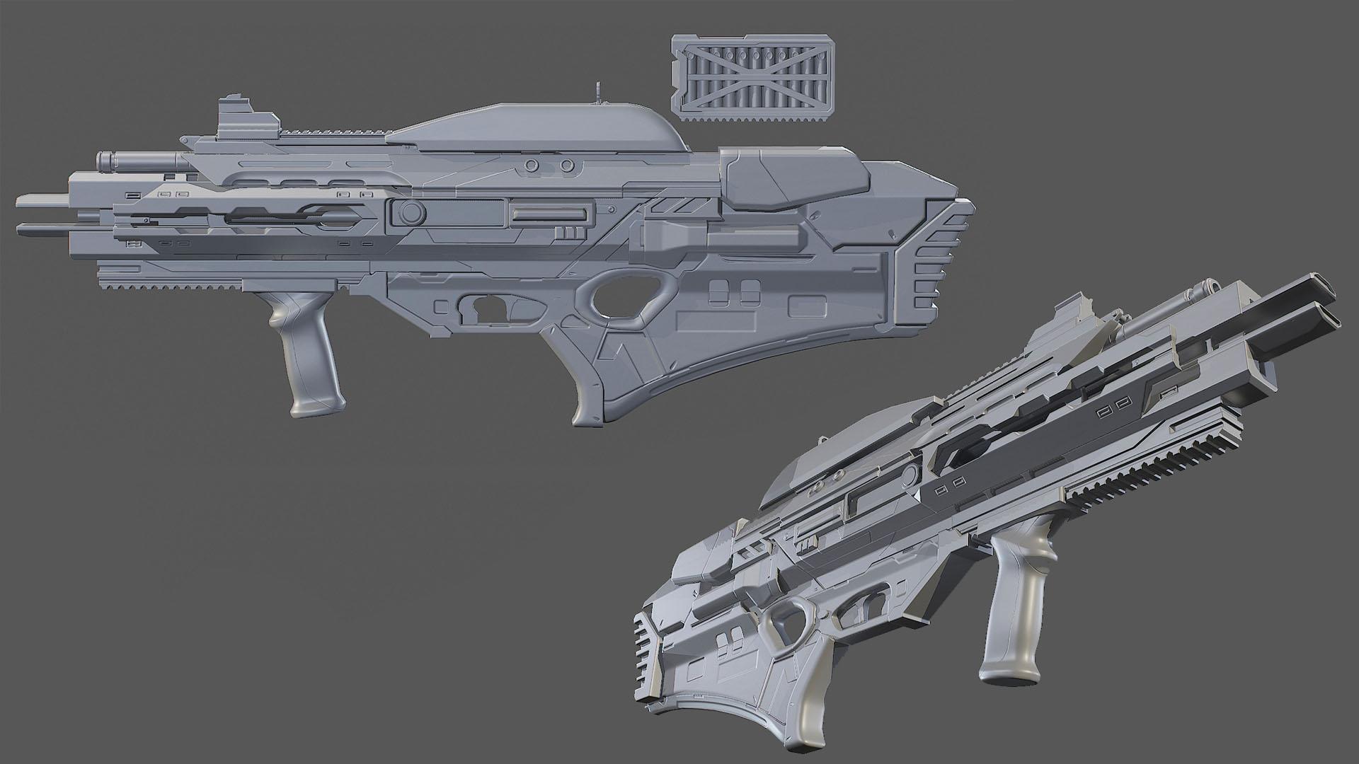 Plasma asssault rifle normal pre