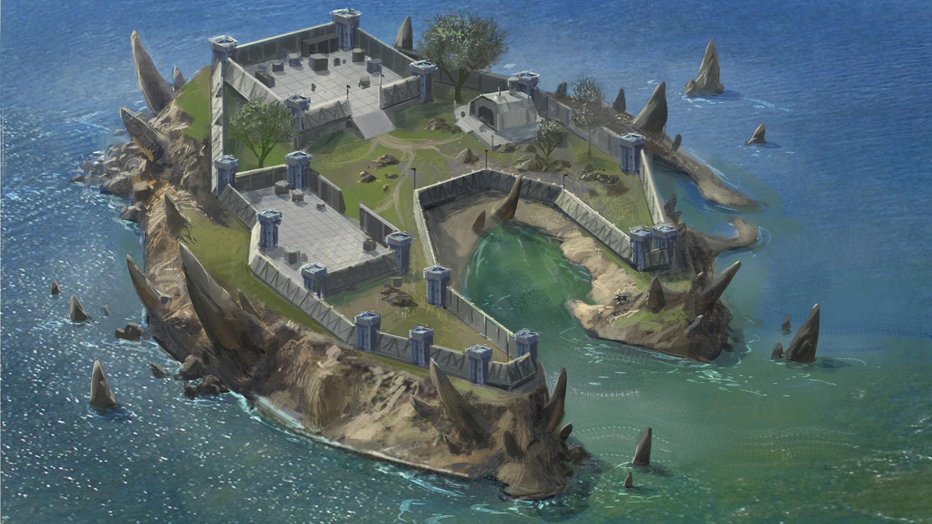 prison island actual