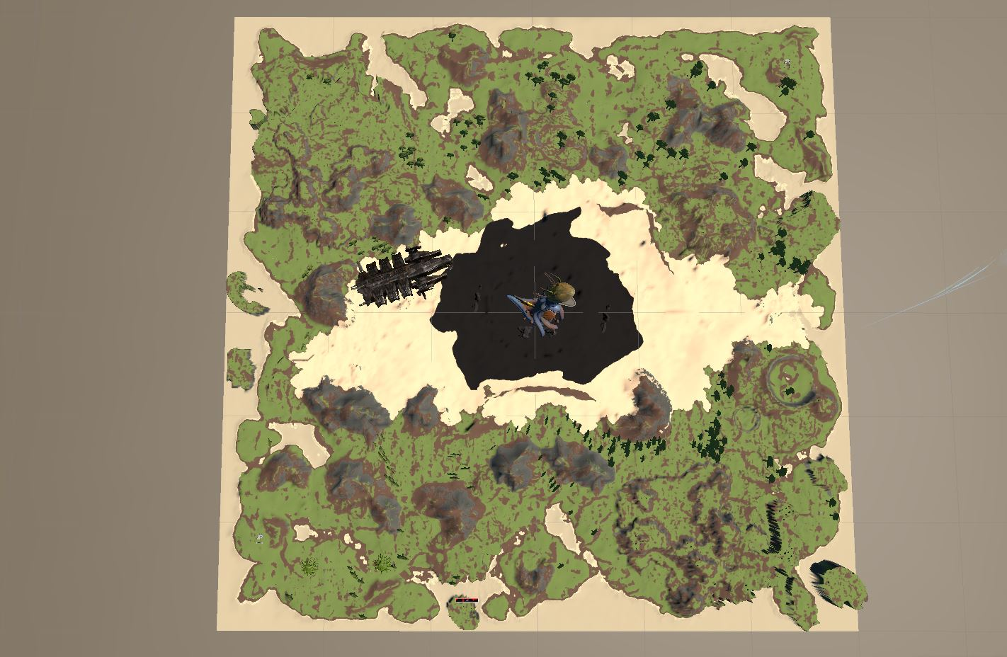 pantropy map