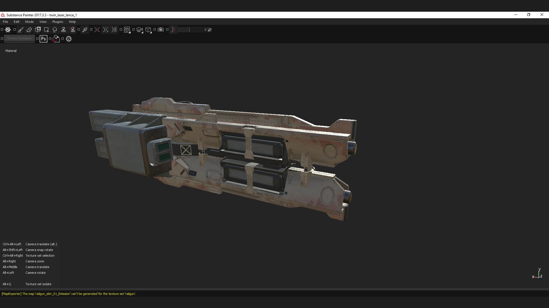 T2 laser lance