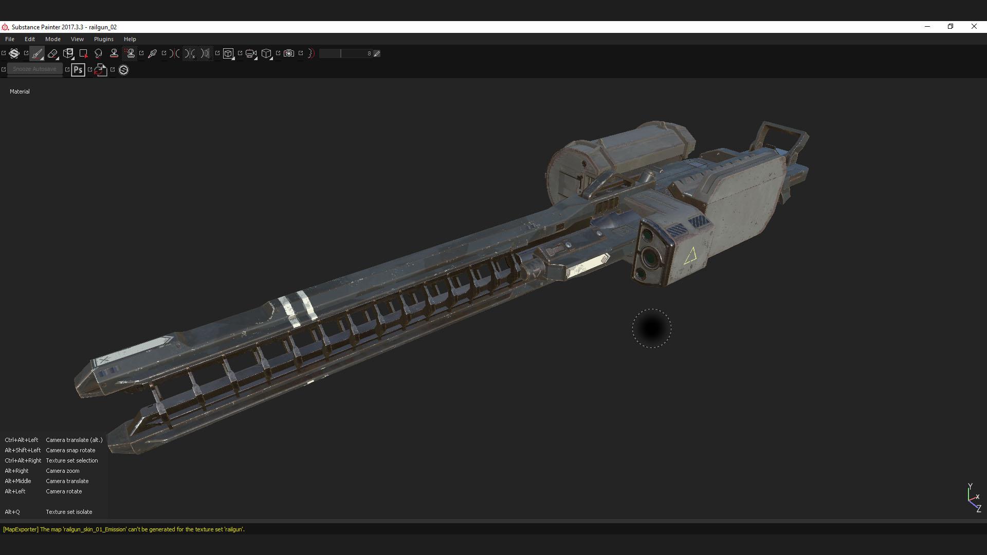 T2 railgun