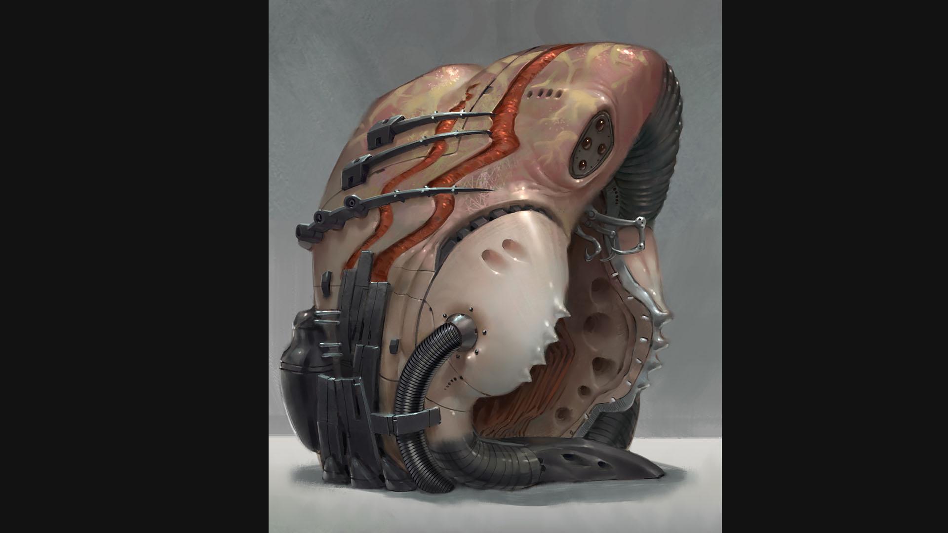 alien walker pod