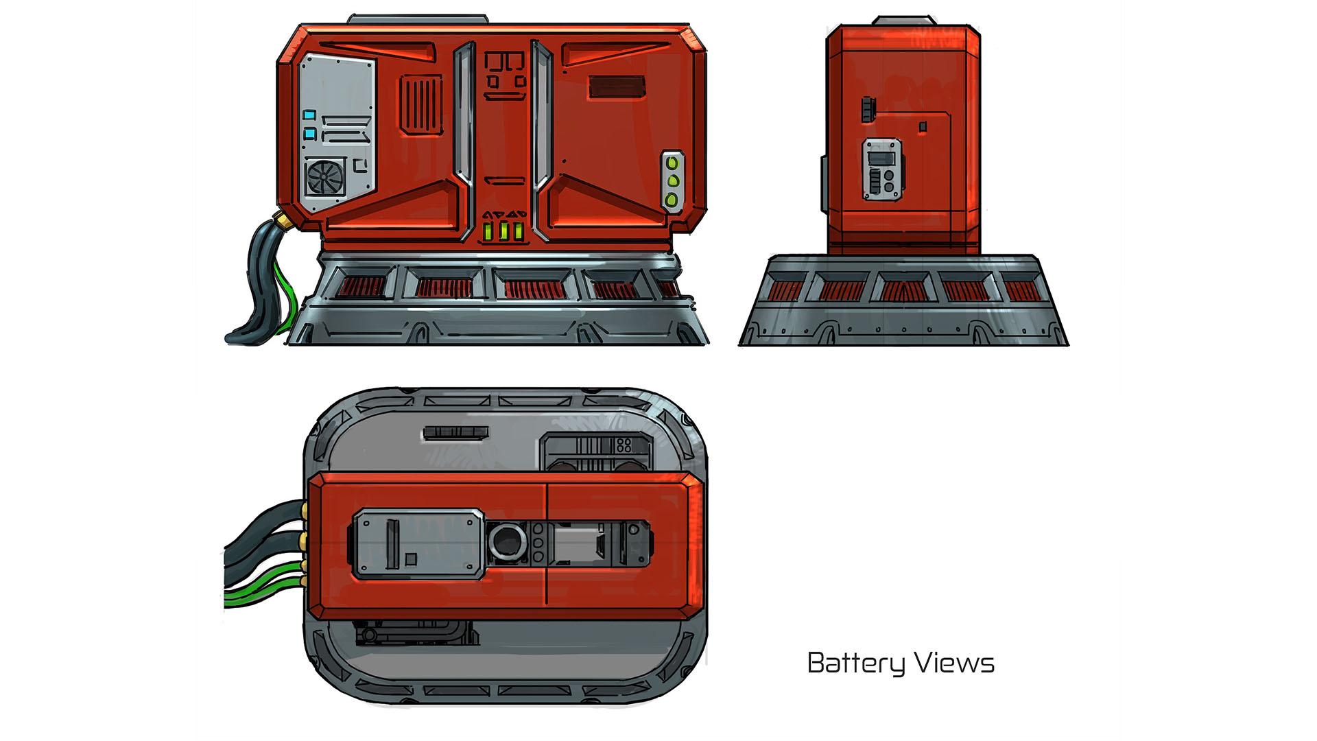 battery views
