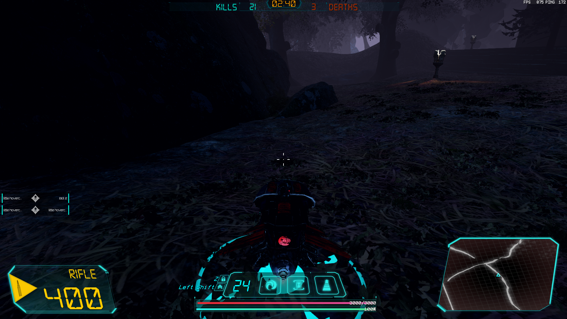 Crash Force latest UI In game