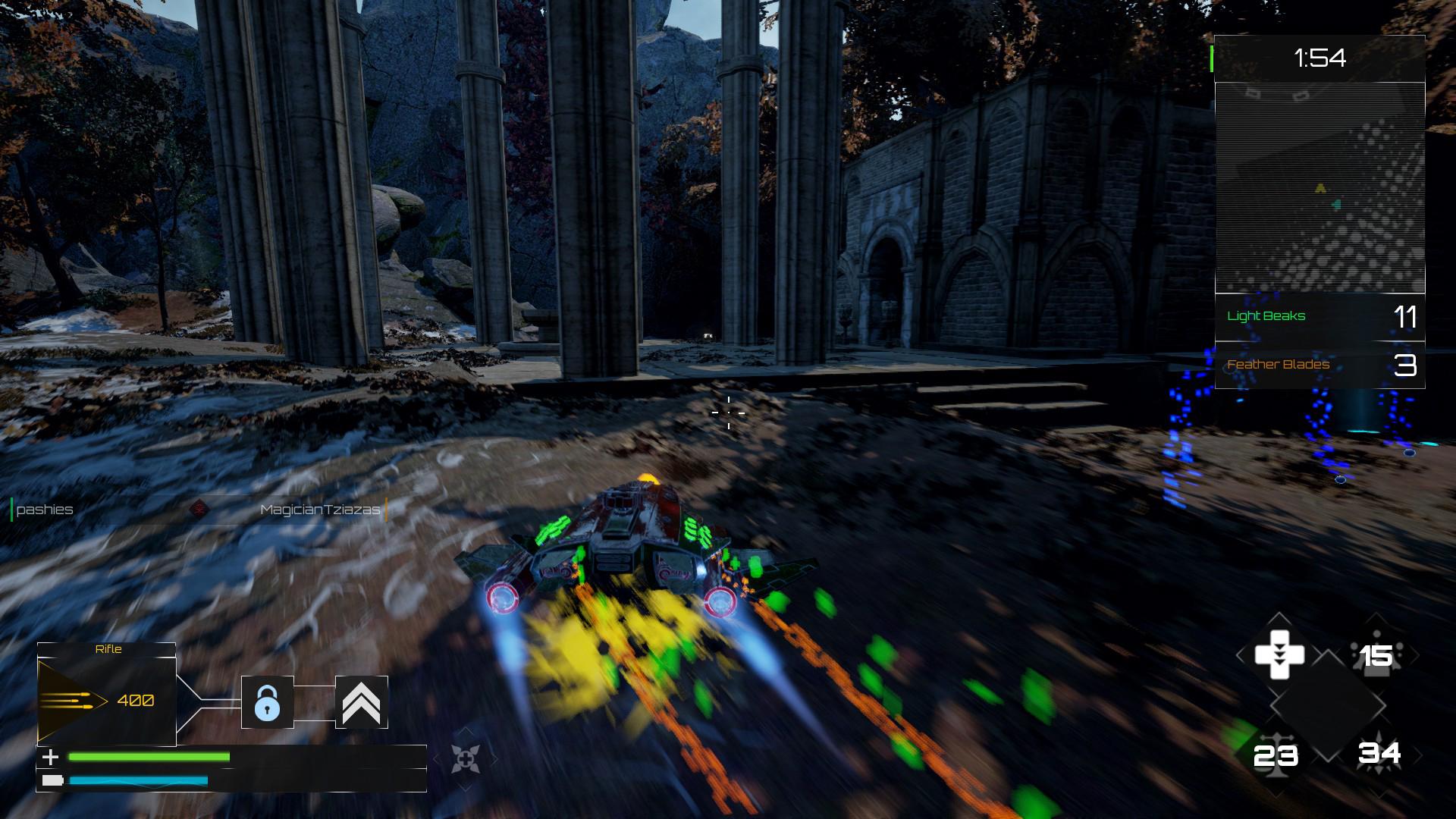 Crash Force - In game HUD (WIP)