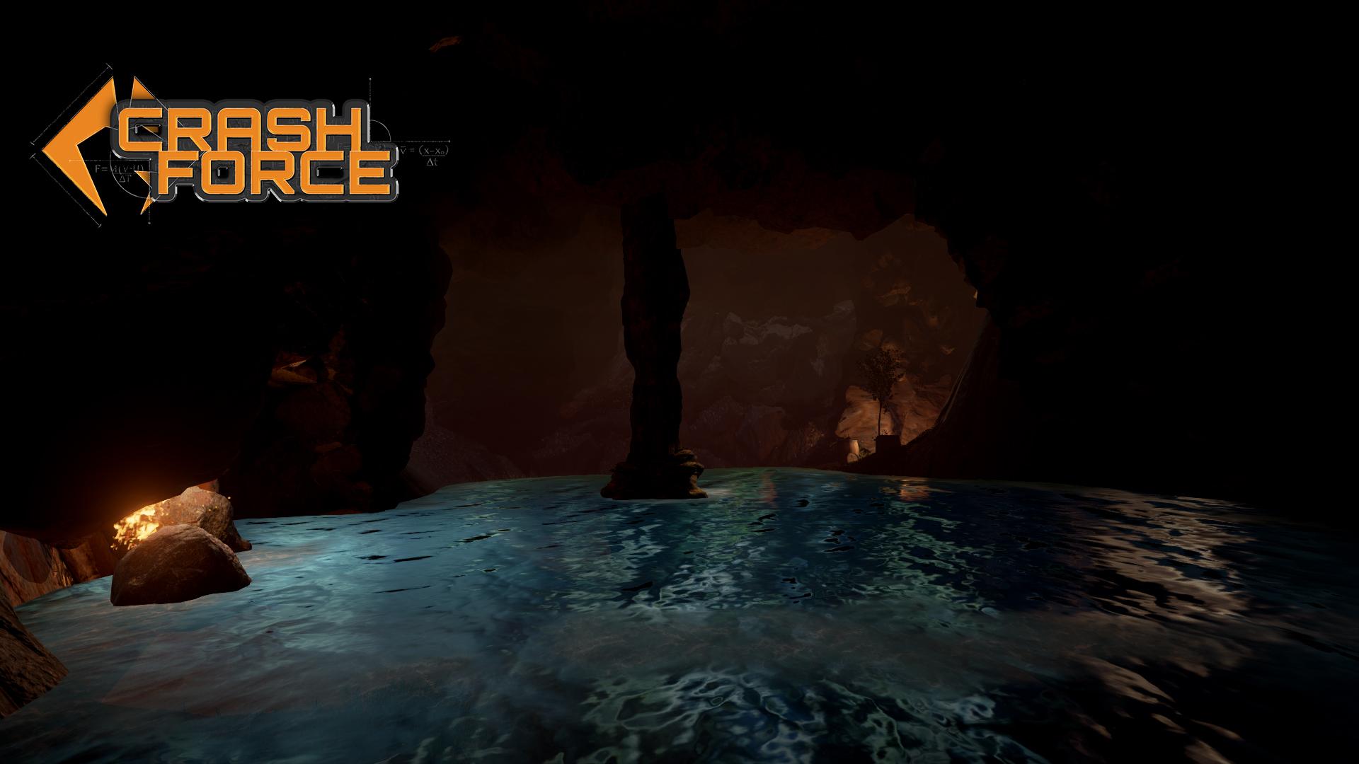 Crash Force - Aquila Plains cave