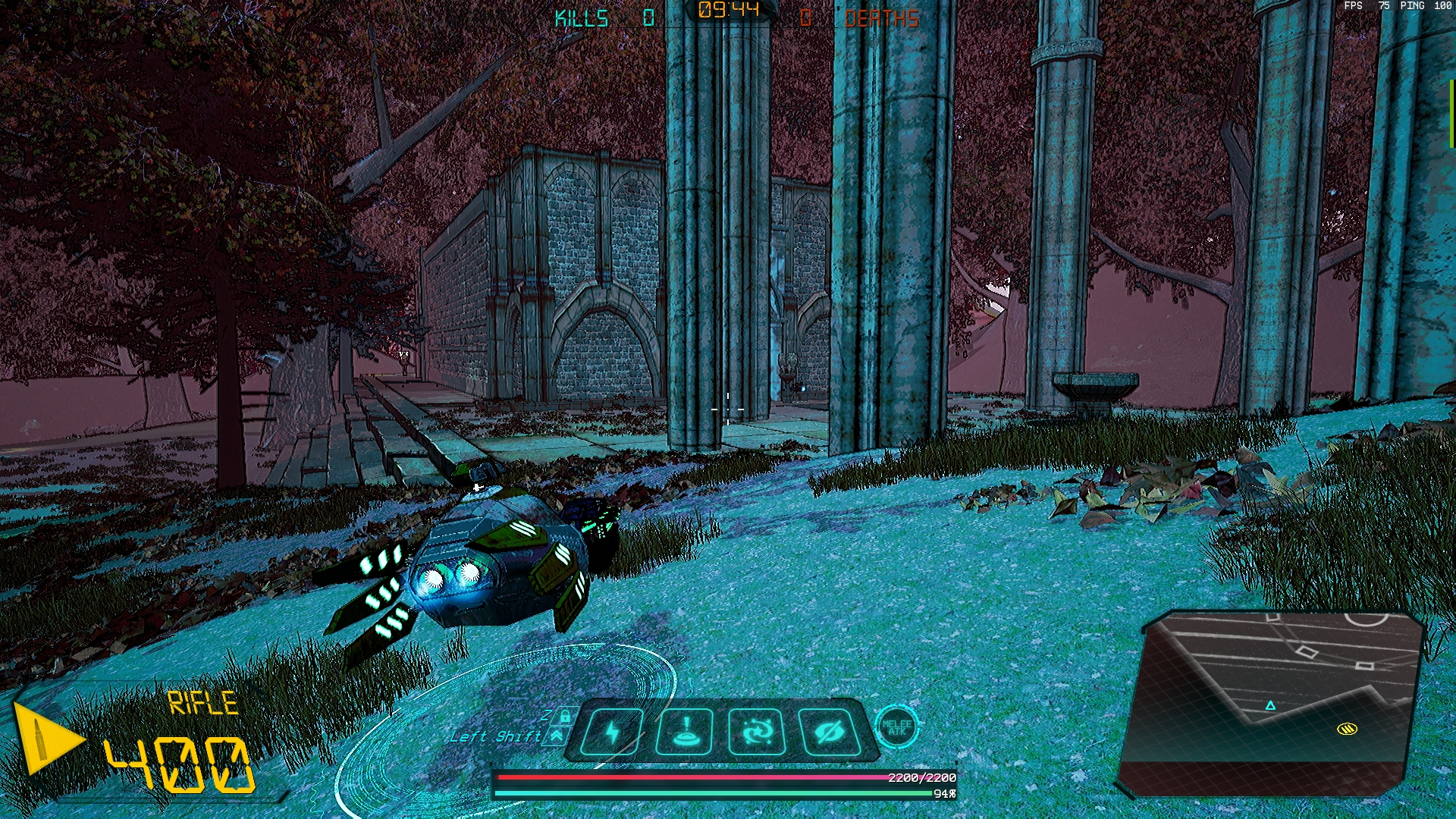 Cicuma Forest in game screenshot of Crash Force