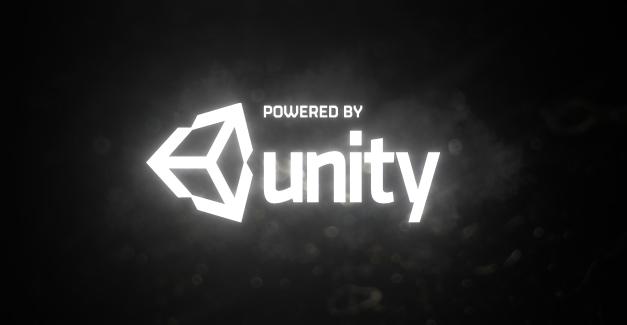 powered by unity splash screen w