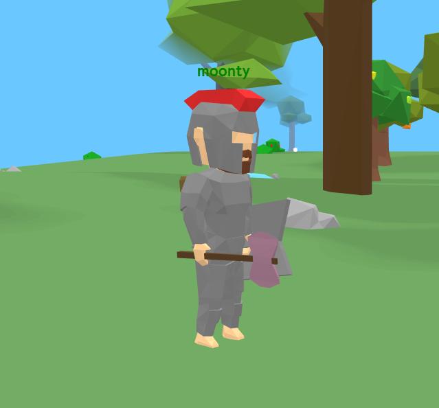 Morterra new player model iron armor