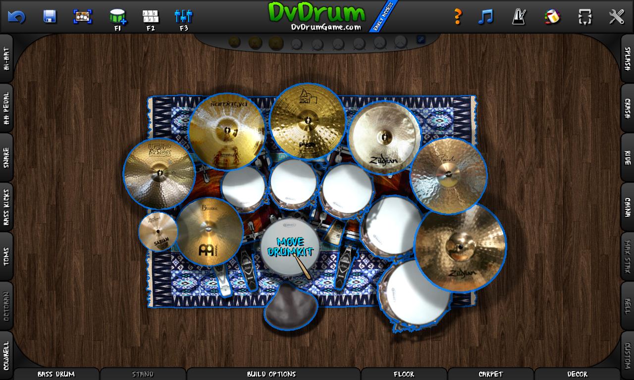 Outline Drumkit