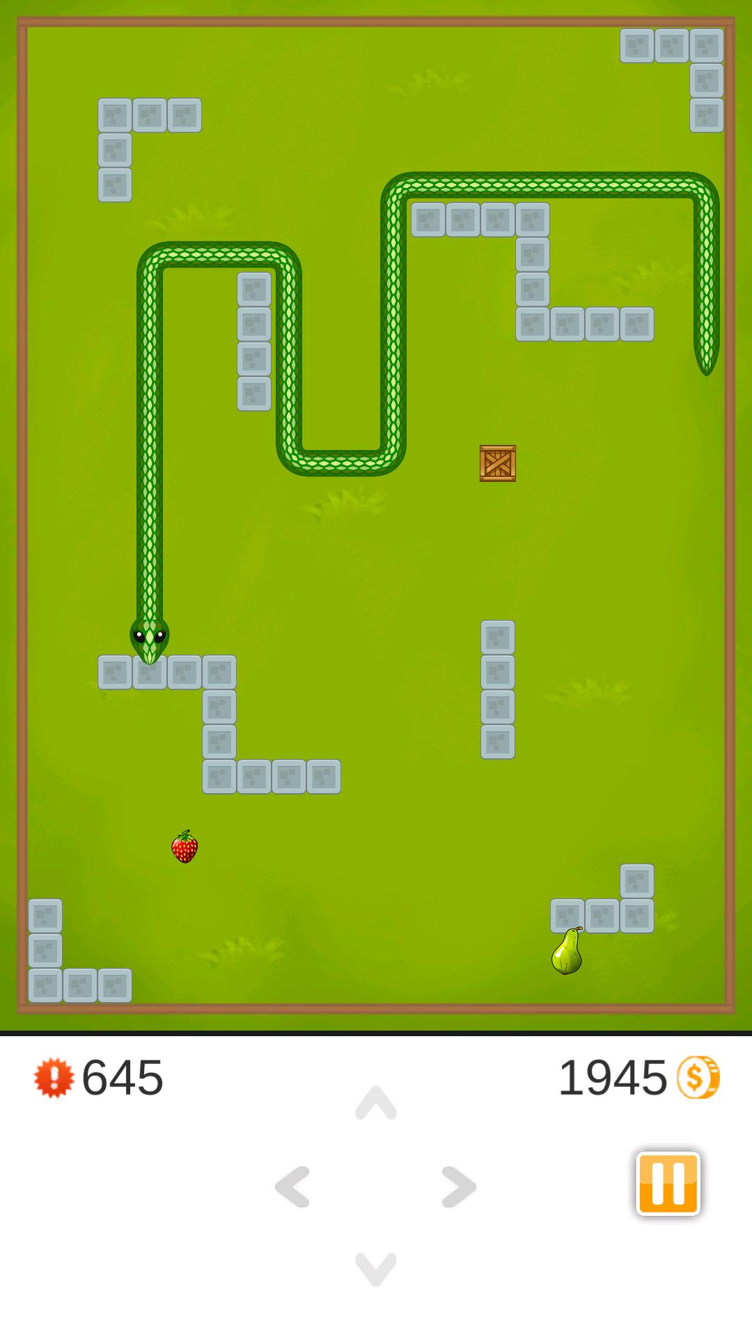 5 Snake Game Three Kings Screen 1
